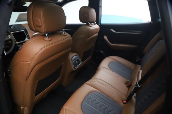New 2021 Maserati Levante Q4 GranLusso for sale $93,385 at Bentley Greenwich in Greenwich CT 06830 17
