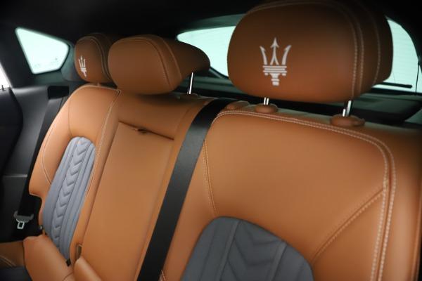 New 2021 Maserati Levante Q4 GranLusso for sale $93,385 at Bentley Greenwich in Greenwich CT 06830 19