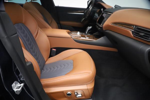 New 2021 Maserati Levante Q4 GranLusso for sale $93,385 at Bentley Greenwich in Greenwich CT 06830 22