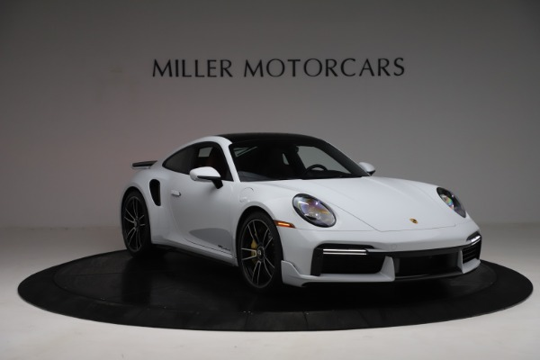 Used 2021 Porsche 911 Turbo S for sale Sold at Bentley Greenwich in Greenwich CT 06830 11