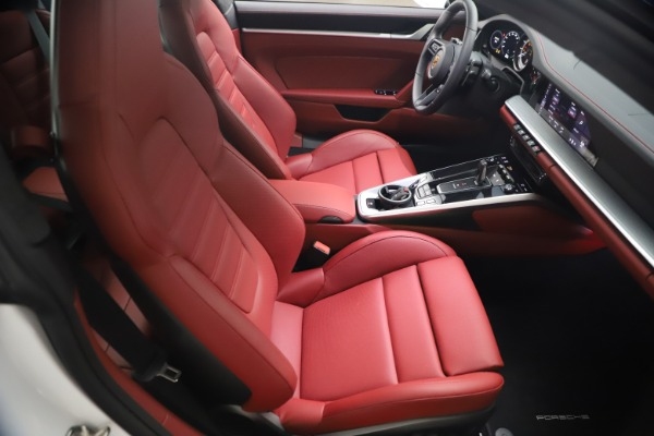 Used 2021 Porsche 911 Turbo S for sale Sold at Bentley Greenwich in Greenwich CT 06830 17