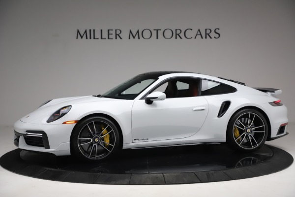Used 2021 Porsche 911 Turbo S for sale Sold at Bentley Greenwich in Greenwich CT 06830 2