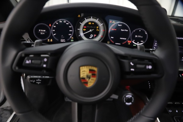 Used 2021 Porsche 911 Turbo S for sale Sold at Bentley Greenwich in Greenwich CT 06830 20