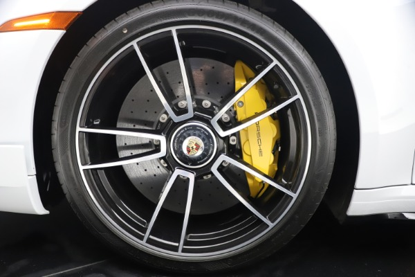 Used 2021 Porsche 911 Turbo S for sale Sold at Bentley Greenwich in Greenwich CT 06830 24