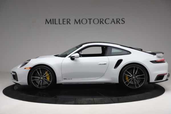 Used 2021 Porsche 911 Turbo S for sale Sold at Bentley Greenwich in Greenwich CT 06830 3