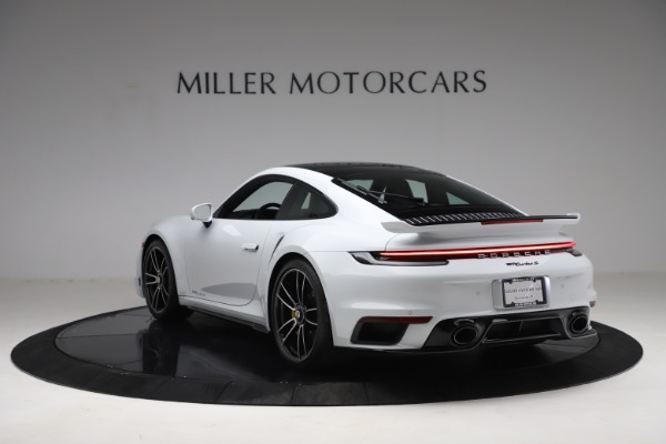 Used 2021 Porsche 911 Turbo S for sale Sold at Bentley Greenwich in Greenwich CT 06830 5