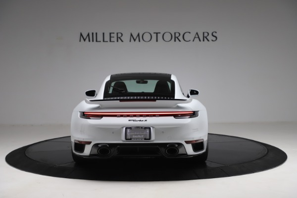Used 2021 Porsche 911 Turbo S for sale Sold at Bentley Greenwich in Greenwich CT 06830 6