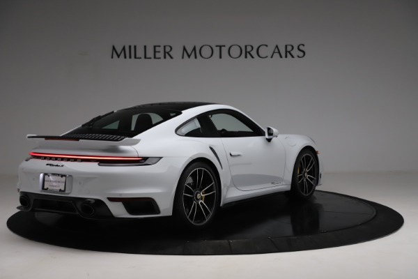 Used 2021 Porsche 911 Turbo S for sale Sold at Bentley Greenwich in Greenwich CT 06830 7