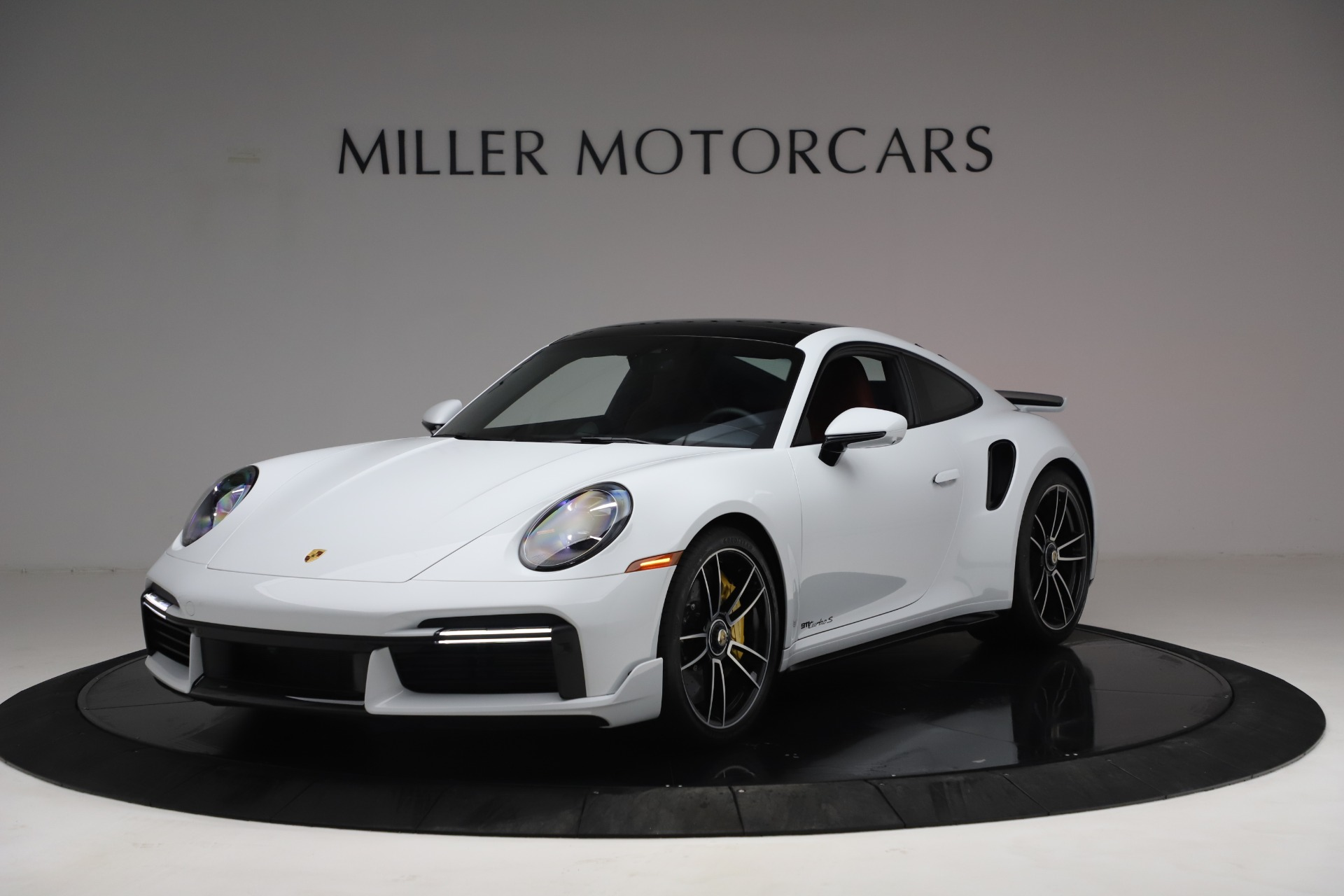 Used 2021 Porsche 911 Turbo S for sale Sold at Bentley Greenwich in Greenwich CT 06830 1