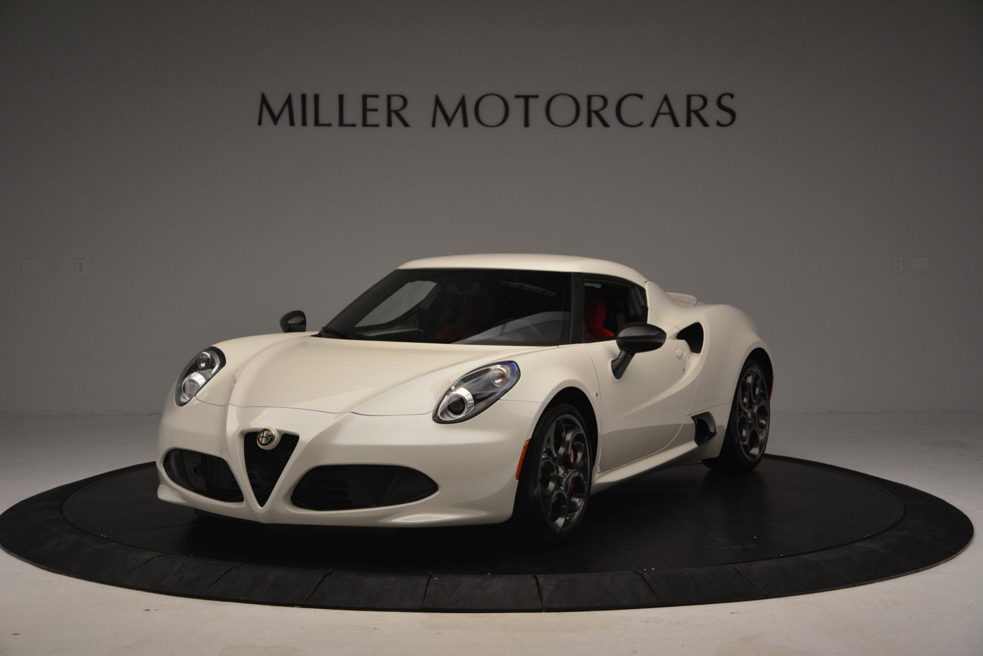 Used 2015 Alfa Romeo 4C for sale Sold at Bentley Greenwich in Greenwich CT 06830 1