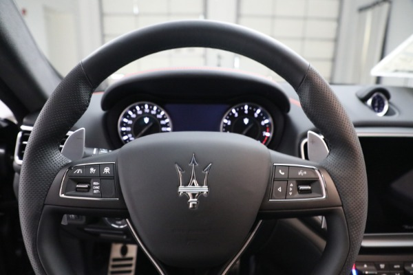 New 2021 Maserati Ghibli S Q4 GranSport for sale $100,635 at Bentley Greenwich in Greenwich CT 06830 16