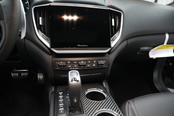 New 2021 Maserati Ghibli S Q4 GranSport for sale $100,635 at Bentley Greenwich in Greenwich CT 06830 19