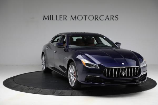 New 2021 Maserati Quattroporte S Q4 GranLusso for sale Call for price at Bentley Greenwich in Greenwich CT 06830 12