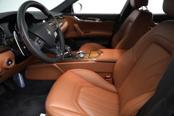 New 2021 Maserati Quattroporte S Q4 GranLusso for sale Call for price at Bentley Greenwich in Greenwich CT 06830 15