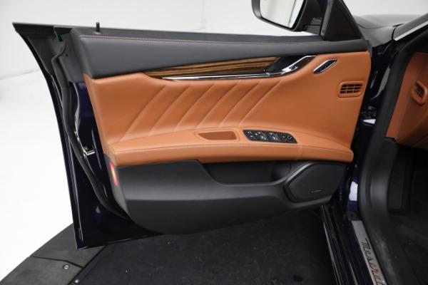 New 2021 Maserati Quattroporte S Q4 GranLusso for sale Call for price at Bentley Greenwich in Greenwich CT 06830 17