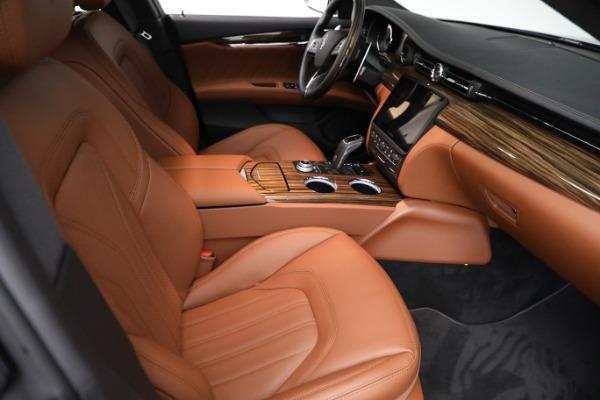 New 2021 Maserati Quattroporte S Q4 GranLusso for sale Call for price at Bentley Greenwich in Greenwich CT 06830 23