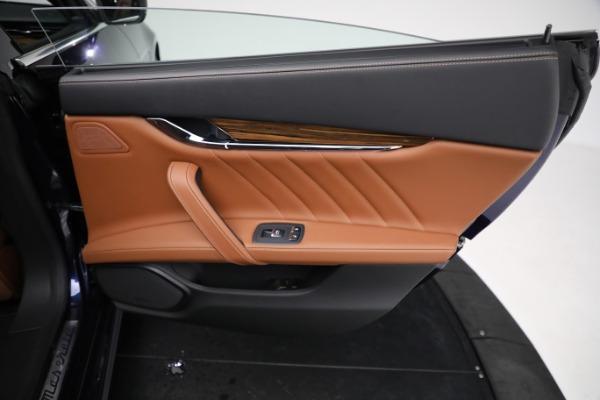 New 2021 Maserati Quattroporte S Q4 GranLusso for sale Call for price at Bentley Greenwich in Greenwich CT 06830 28