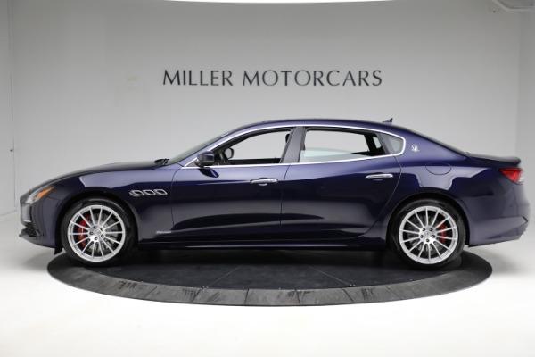 New 2021 Maserati Quattroporte S Q4 GranLusso for sale Call for price at Bentley Greenwich in Greenwich CT 06830 3