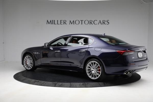 New 2021 Maserati Quattroporte S Q4 GranLusso for sale Call for price at Bentley Greenwich in Greenwich CT 06830 4