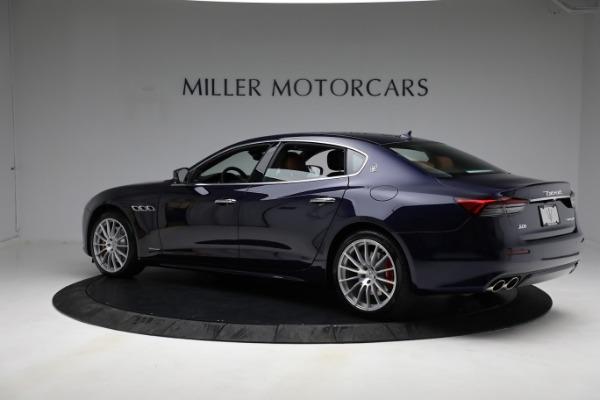 New 2021 Maserati Quattroporte S Q4 GranLusso for sale Call for price at Bentley Greenwich in Greenwich CT 06830 5