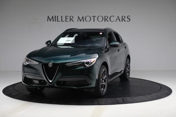 New 2021 Alfa Romeo Stelvio Ti Sport Q4 for sale $58,500 at Bentley Greenwich in Greenwich CT 06830 1