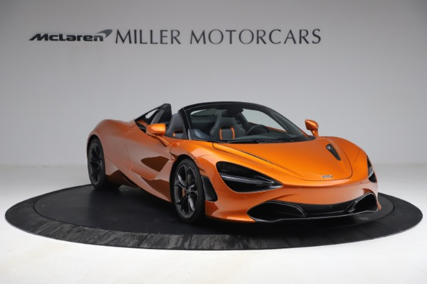 Used 2020 McLaren 720S Spider for sale $335,900 at Bentley Greenwich in Greenwich CT 06830 11