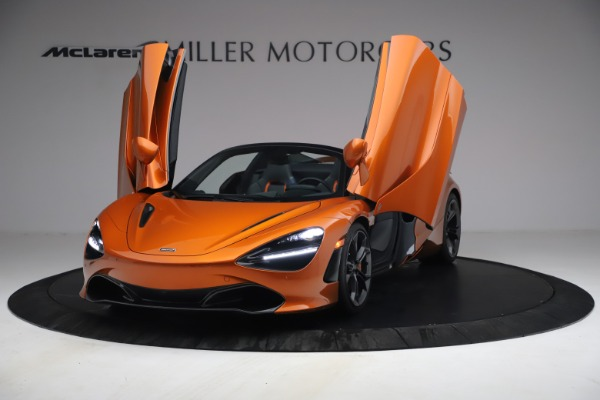 Used 2020 McLaren 720S Spider for sale $335,900 at Bentley Greenwich in Greenwich CT 06830 13
