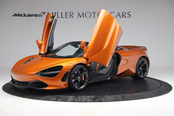 Used 2020 McLaren 720S Spider for sale $335,900 at Bentley Greenwich in Greenwich CT 06830 14