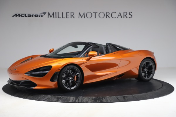 Used 2020 McLaren 720S Spider for sale $335,900 at Bentley Greenwich in Greenwich CT 06830 2