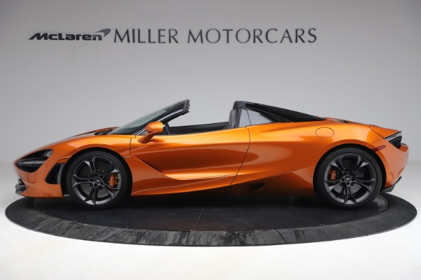 Used 2020 McLaren 720S Spider for sale $335,900 at Bentley Greenwich in Greenwich CT 06830 3
