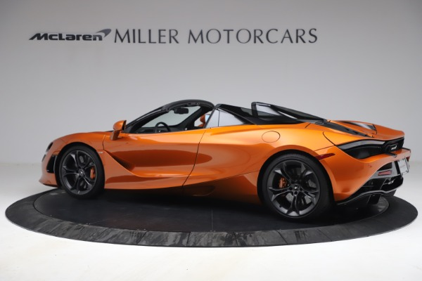 Used 2020 McLaren 720S Spider for sale $335,900 at Bentley Greenwich in Greenwich CT 06830 4
