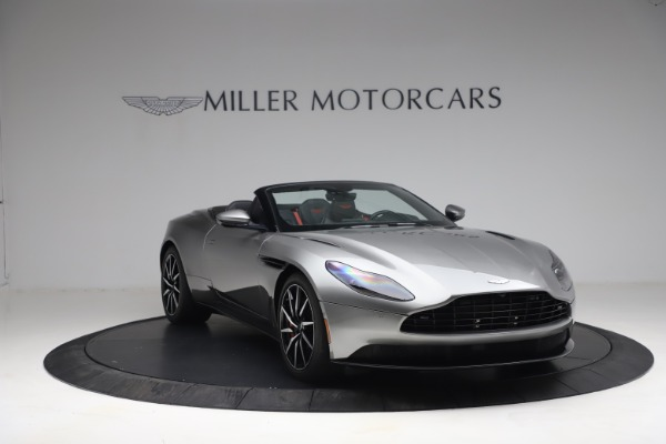 Used 2019 Aston Martin DB11 Volante for sale $209,900 at Bentley Greenwich in Greenwich CT 06830 10
