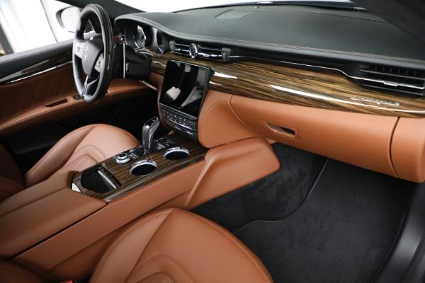 New 2021 Maserati Quattroporte S Q4 for sale Sold at Bentley Greenwich in Greenwich CT 06830 22