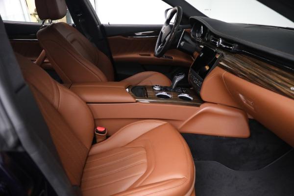 New 2021 Maserati Quattroporte S Q4 for sale Sold at Bentley Greenwich in Greenwich CT 06830 23