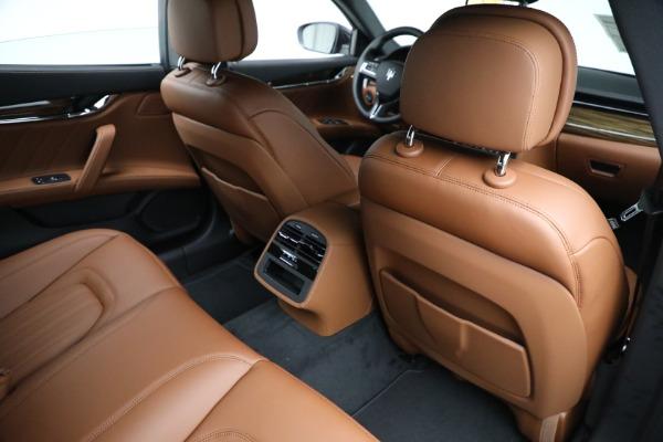 New 2021 Maserati Quattroporte S Q4 for sale Sold at Bentley Greenwich in Greenwich CT 06830 25