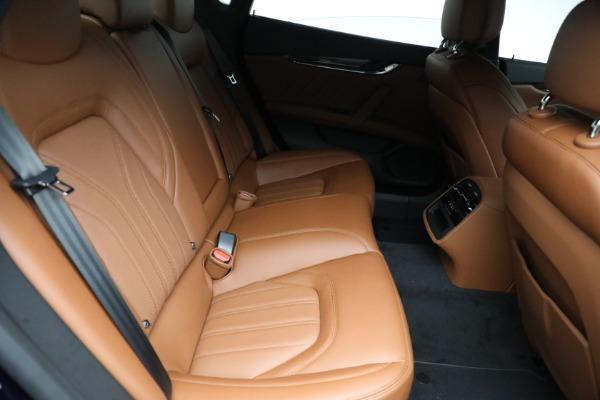 New 2021 Maserati Quattroporte S Q4 for sale Sold at Bentley Greenwich in Greenwich CT 06830 26