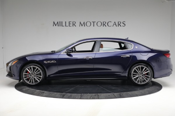 New 2021 Maserati Quattroporte S Q4 for sale Sold at Bentley Greenwich in Greenwich CT 06830 3
