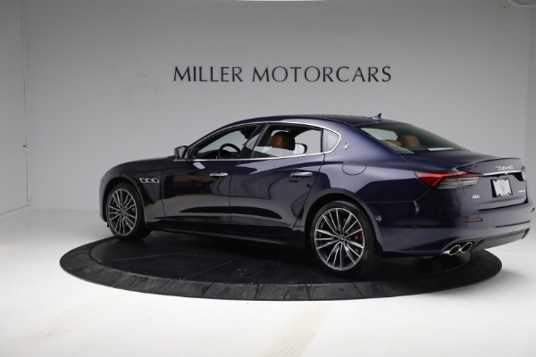 New 2021 Maserati Quattroporte S Q4 for sale Sold at Bentley Greenwich in Greenwich CT 06830 5