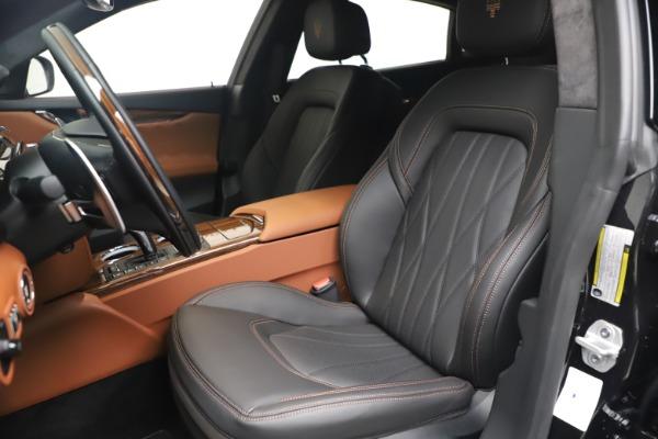New 2021 Maserati Quattroporte S Q4 GranLusso for sale $129,135 at Bentley Greenwich in Greenwich CT 06830 15