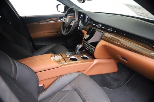 New 2021 Maserati Quattroporte S Q4 GranLusso for sale $129,135 at Bentley Greenwich in Greenwich CT 06830 18