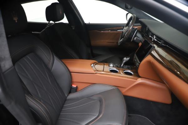 New 2021 Maserati Quattroporte S Q4 GranLusso for sale $129,135 at Bentley Greenwich in Greenwich CT 06830 19