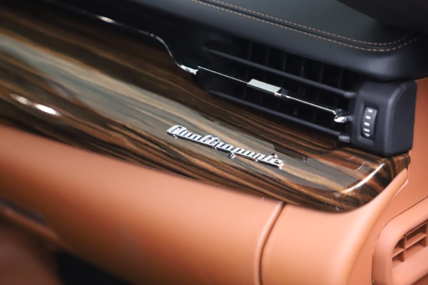 New 2021 Maserati Quattroporte S Q4 GranLusso for sale $129,135 at Bentley Greenwich in Greenwich CT 06830 21