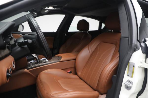 New 2021 Maserati Quattroporte S Q4 GranLusso for sale $120,599 at Bentley Greenwich in Greenwich CT 06830 13