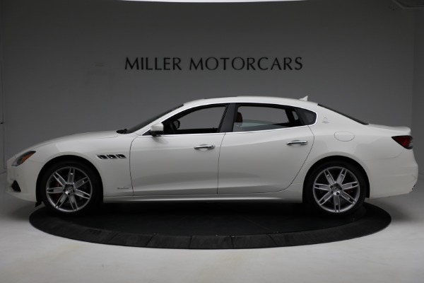 New 2021 Maserati Quattroporte S Q4 GranLusso for sale $120,599 at Bentley Greenwich in Greenwich CT 06830 3