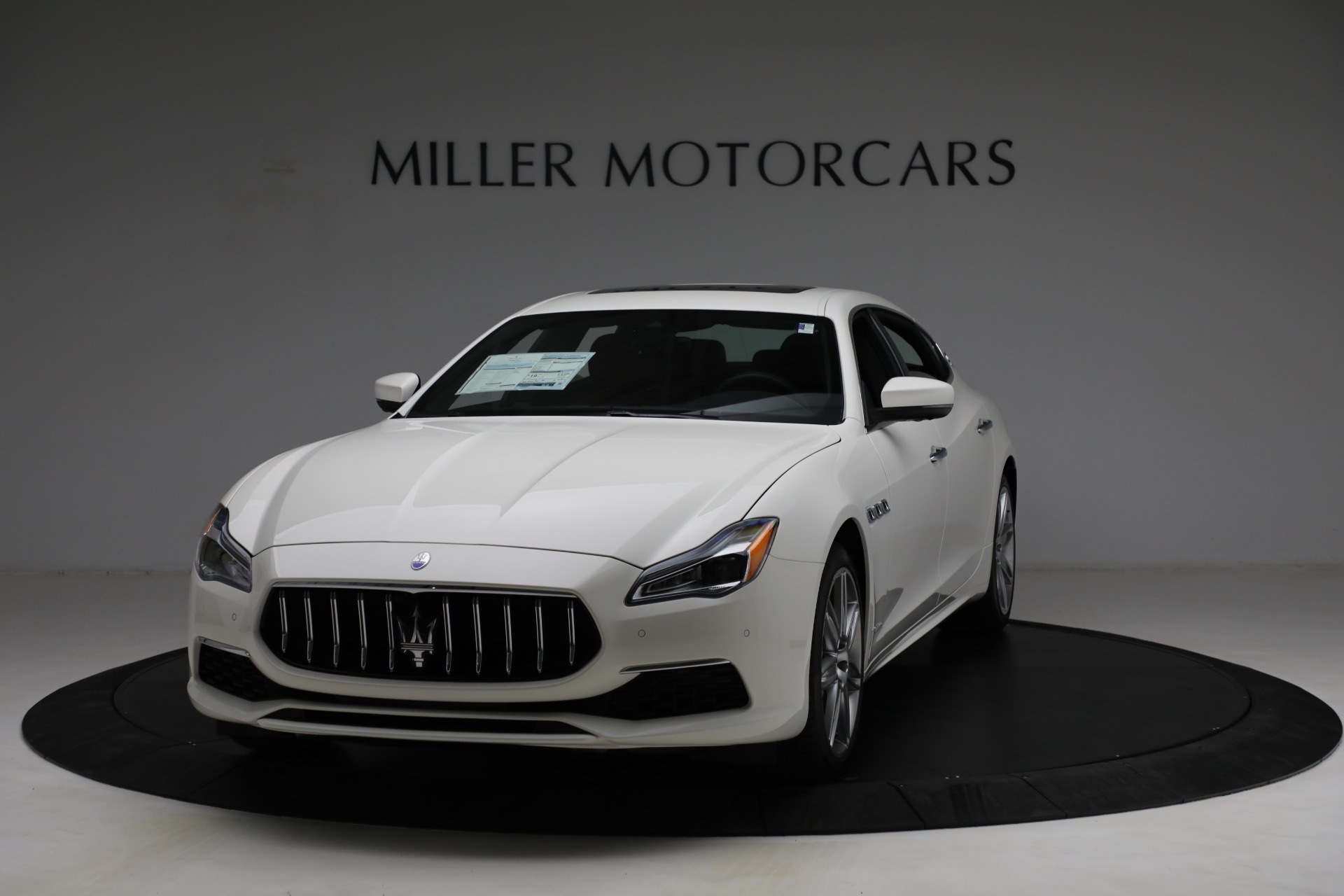 New 2021 Maserati Quattroporte S Q4 GranLusso for sale $120,599 at Bentley Greenwich in Greenwich CT 06830 1