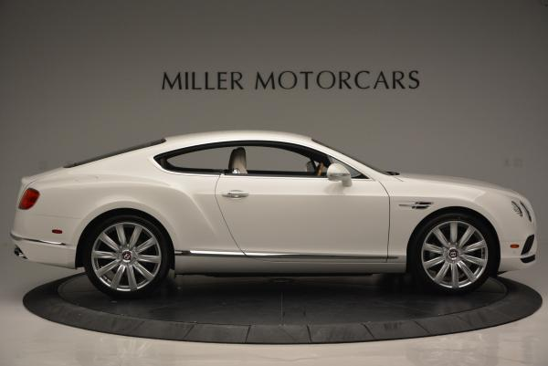 New 2016 Bentley Continental GT V8 for sale Sold at Bentley Greenwich in Greenwich CT 06830 9
