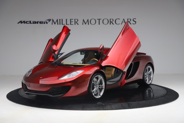 Used 2012 McLaren MP4-12C for sale Call for price at Bentley Greenwich in Greenwich CT 06830 13