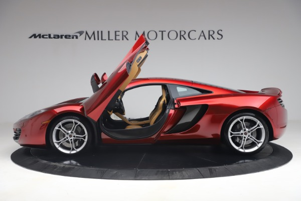 Used 2012 McLaren MP4-12C for sale Call for price at Bentley Greenwich in Greenwich CT 06830 14