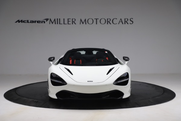 New 2021 McLaren 720S Spider for sale $366,670 at Bentley Greenwich in Greenwich CT 06830 10