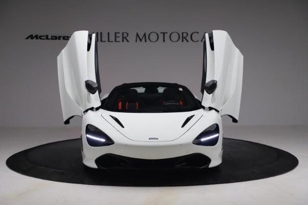 New 2021 McLaren 720S Spider for sale $366,670 at Bentley Greenwich in Greenwich CT 06830 11